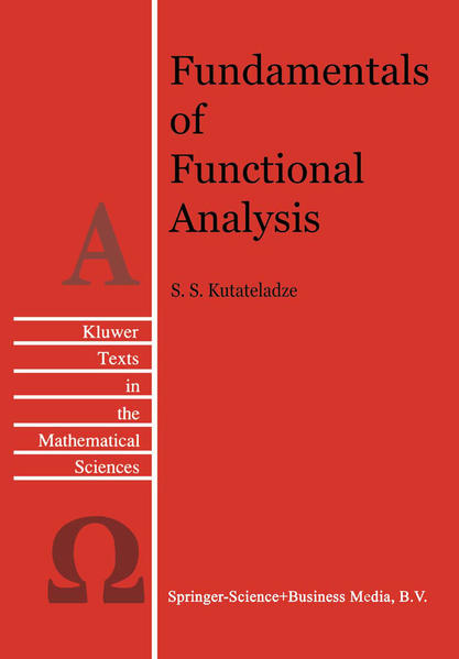 Fundamentals of Functional Analysis - Coverbild
