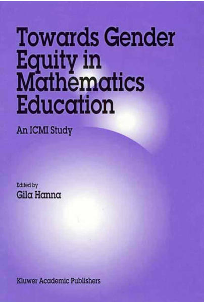 Towards Gender Equity in Mathematics Education - Coverbild