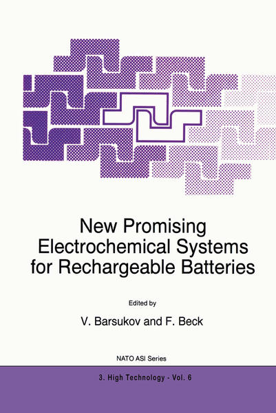 New Promising Electrochemical Systems for Rechargeable Batteries - Coverbild