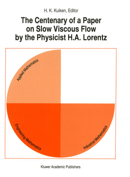 The Centenary of a Paper on Slow Viscous Flow by the Physicist H.A. Lorentz - Coverbild