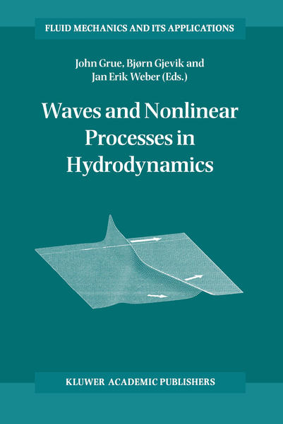 Waves and Nonlinear Processes in Hydrodynamics - Coverbild