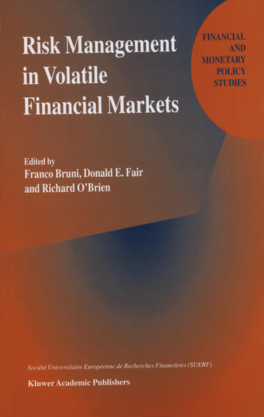 Risk Management in Volatile Financial Markets - Coverbild