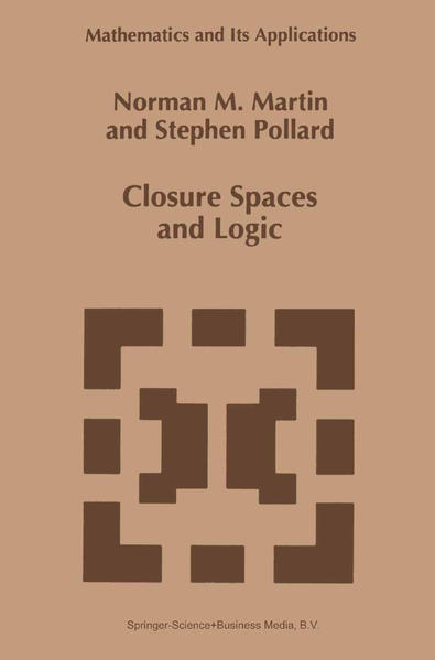 Closure Spaces and Logic - Coverbild