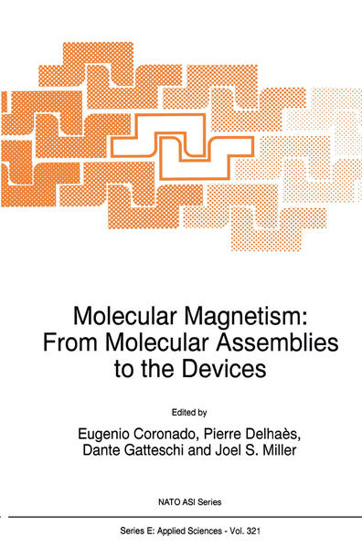 Molecular Magnetism: From Molecular Assemblies to the Devices - Coverbild