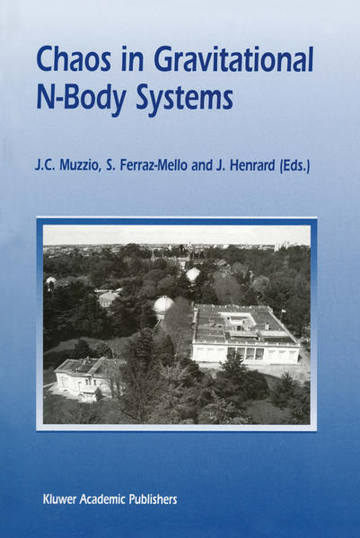 Chaos in Gravitational N-Body Systems - Coverbild