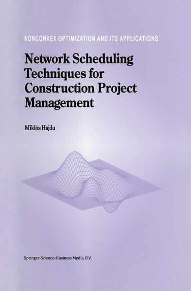 Network Scheduling Techniques for Construction Project Management - Coverbild