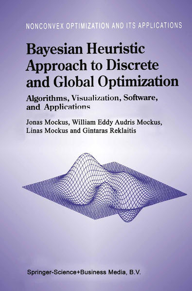 Bayesian Heuristic Approach to Discrete and Global Optimization - Coverbild