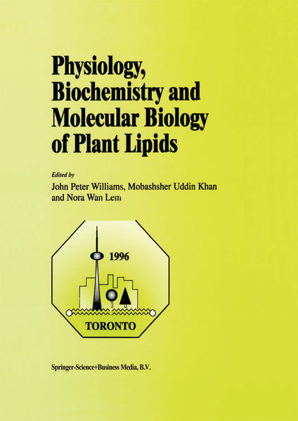 Physiology, Biochemistry and Molecular Biology of Plant Lipids - Coverbild