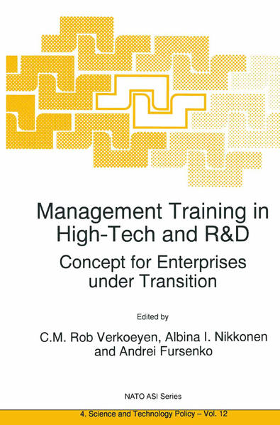 Management Training in High-Tech and R&D - Coverbild