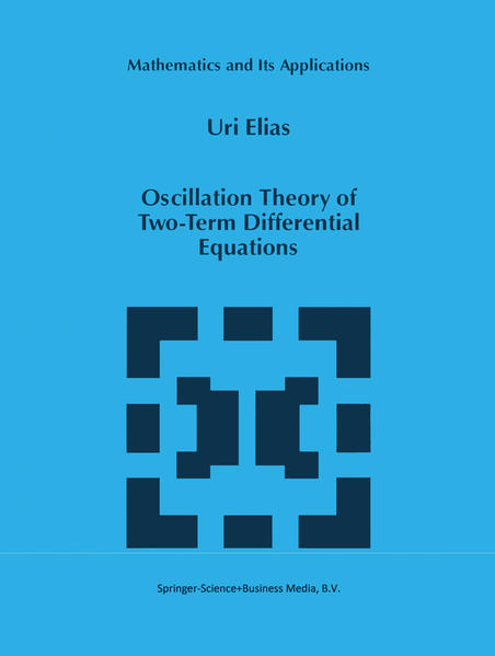 Oscillation Theory of Two-Term Differential Equations - Coverbild