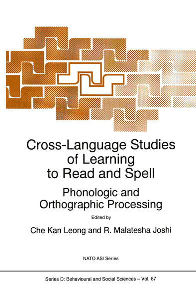 Cross-Language Studies of Learning to Read and Spell: - Coverbild