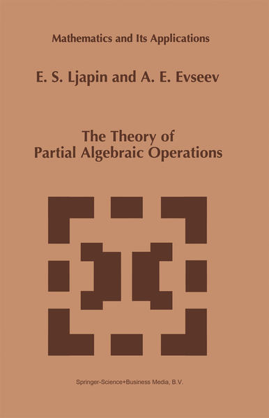 The Theory of Partial Algebraic Operations - Coverbild