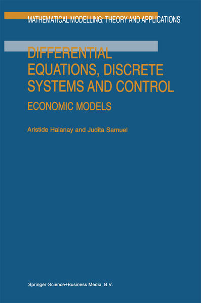 Differential Equations, Discrete Systems and Control - Coverbild