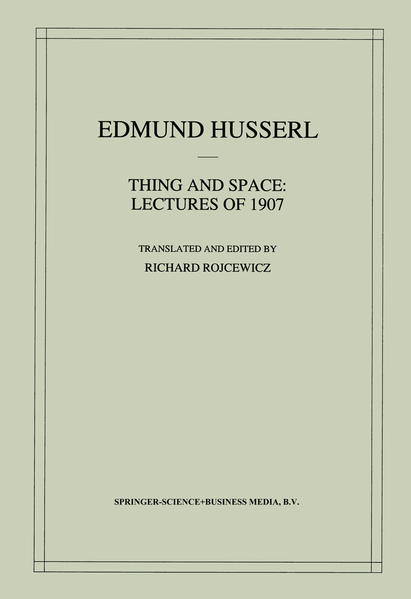Thing and Space - Coverbild