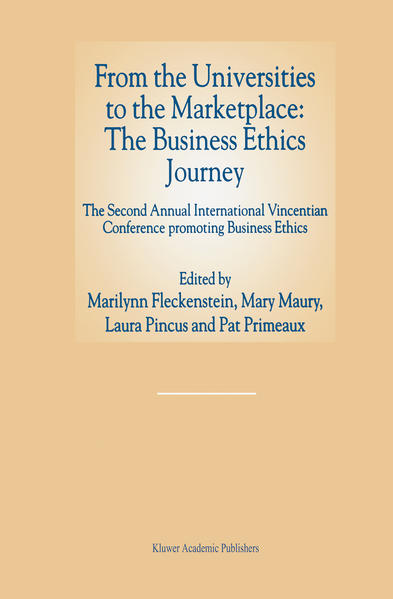 From the Universities to the Marketplace: The Business Ethics Journey - Coverbild