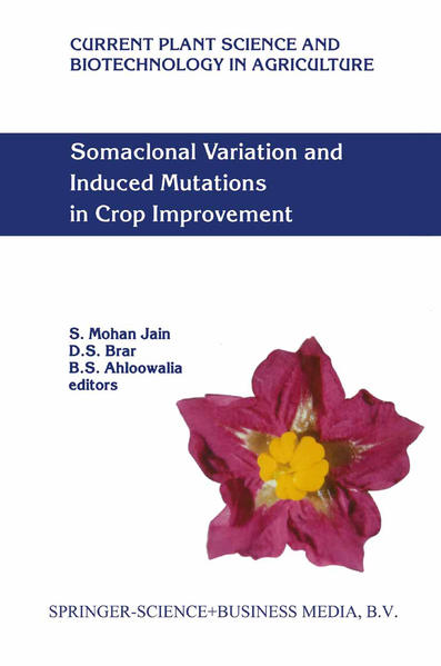 Somaclonal Variation and Induced Mutations in Crop Improvement - Coverbild