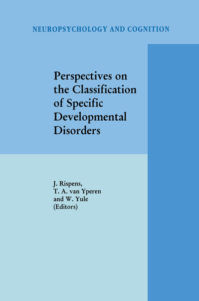 Perspectives on the Classification of Specific Developmental Disorders - Coverbild
