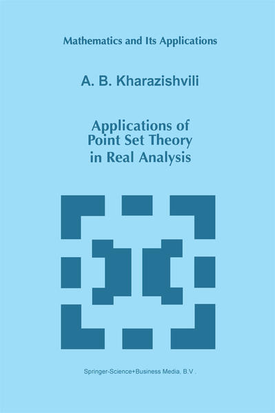 Applications of Point Set Theory in Real Analysis - Coverbild