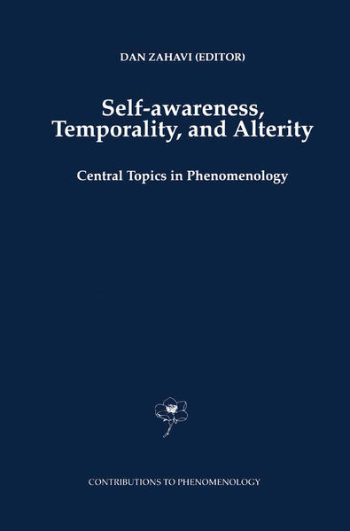 Self-Awareness, Temporality, and Alterity - Coverbild