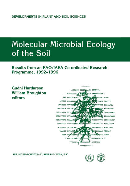 Molecular Microbial Ecology of the Soil - Coverbild