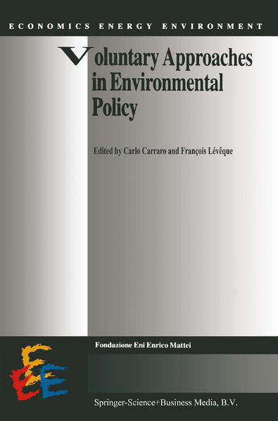 Voluntary Approaches in Environmental Policy - Coverbild