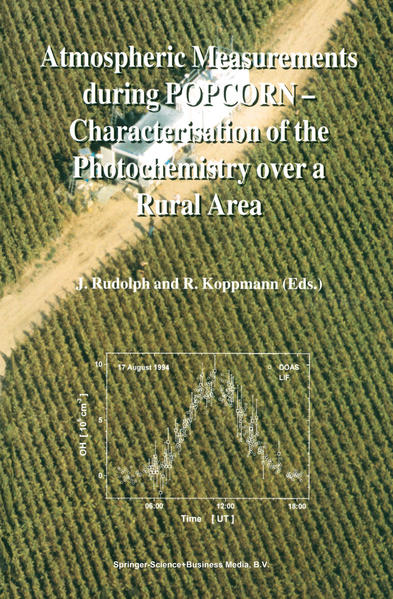 Atmospheric Measurements during POPCORN — Characterisation of the Photochemistry over a Rural Area - Coverbild