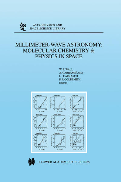 Millimeter-Wave Astronomy: Molecular Chemistry & Physics in Space - Coverbild