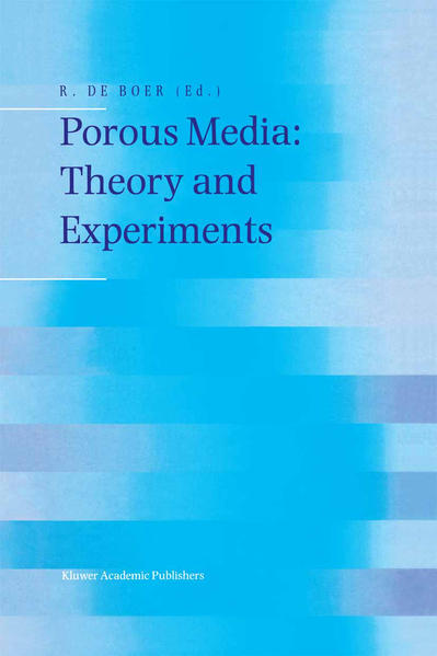 Porous Media: Theory and Experiments - Coverbild