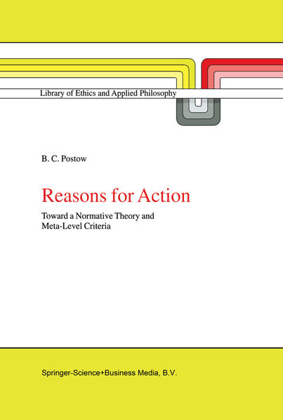 Reasons for Action - Coverbild
