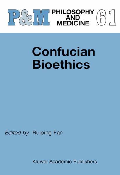 Confucian Bioethics - Coverbild
