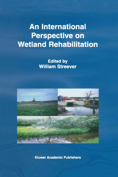 An International Perspective on Wetland Rehabilitation - Coverbild