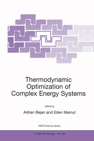 Thermodynamic Optimization of Complex Energy Systems - Coverbild