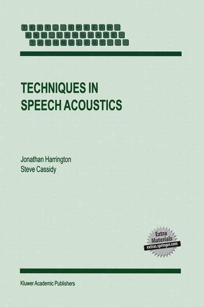 Techniques in Speech Acoustics - Coverbild