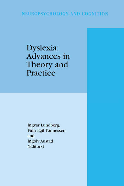 Dyslexia: Advances in Theory and Practice - Coverbild