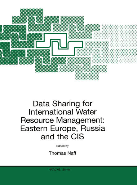 Data Sharing for International Water Resource Management: Eastern Europe, Russia and the CIS - Coverbild