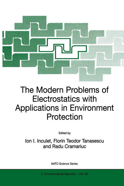 The Modern Problems of Electrostatics with Applications in Environment Protection - Coverbild