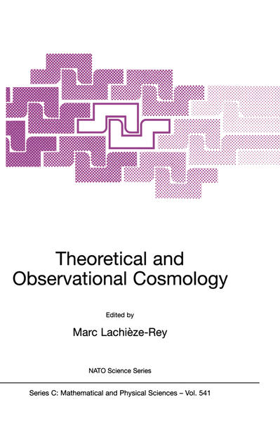 Theoretical and Observational Cosmology - Coverbild