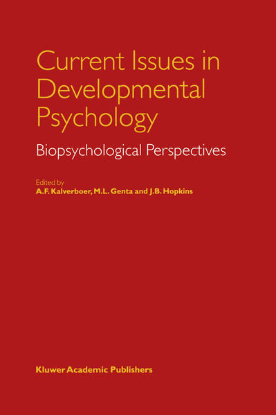 Current Issues in Developmental Psychology - Coverbild