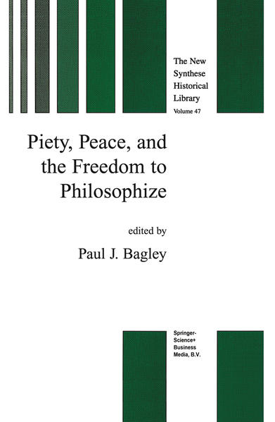 Piety, Peace, and the Freedom to Philosophize - Coverbild