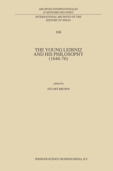 The Young Leibniz and his Philosophy (1646–76) - Coverbild