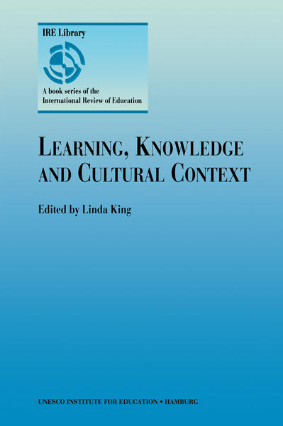 Learning, Knowledge and Cultural Context - Coverbild