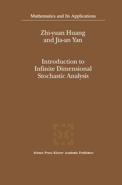 Introduction to Infinite Dimensional Stochastic Analysis - Coverbild