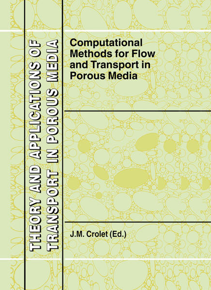 Computational Methods for Flow and Transport in Porous Media - Coverbild