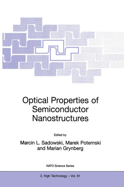 Optical Properties of Semiconductor Nanostructures - Coverbild
