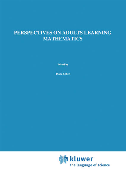 Perspectives on Adults Learning Mathematics - Coverbild