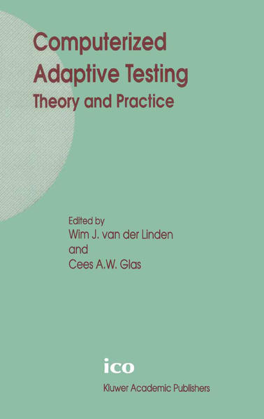 Computerized Adaptive Testing: Theory and Practice - Coverbild