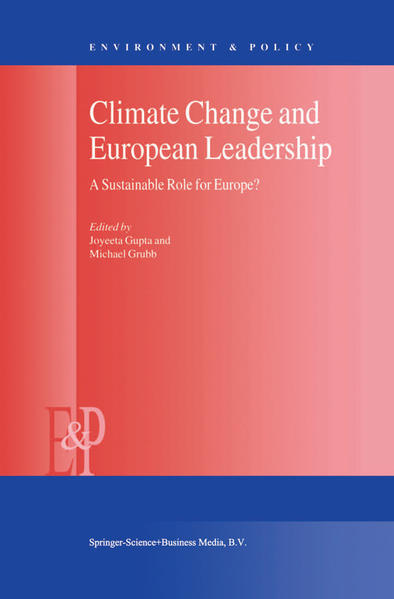 Climate Change and European Leadership - Coverbild