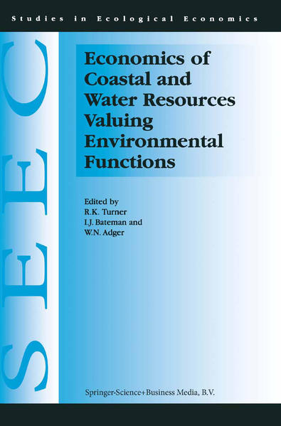 Economics of Coastal and Water Resources: Valuing Environmental Functions - Coverbild