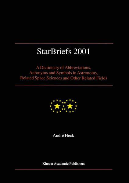 StarBriefs 2001 - Coverbild