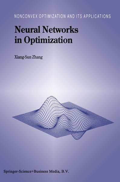 Neural Networks in Optimization - Coverbild